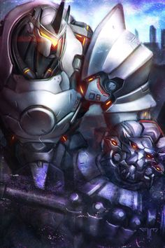 Overwatch - Reinhardt by AIM-art on DeviantArt