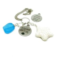 This beach quote rear view mirror charm with essential oil diffuser is perfect for hanging in your car. A sweet stocking stuffer gift for someone dear to you or for the new driver. A rearview mirror charm that features a white star shaped lava bead for adding your favorite fragrance. A beautiful Graduation Gifts For Her, Rear View Mirror, Star Shape, Etsy Jewelry, Handmade Shop, Thoughtful Gifts, Cool Gifts, Stocking Stuffers, Summer Time