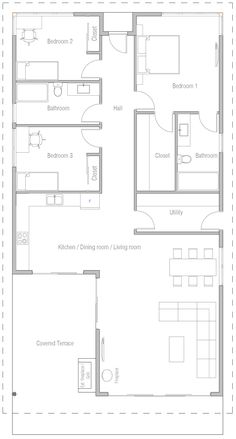 Tiny House Plans 335166397270639895 - house design 20 Source by fangixl One Level House Plans, Square House Plans, Modern House Floor Plans, Modern Bungalow House, My House Plans, House Layout Plans, Beach House Plans, Bungalow House Plans, Small House Plans