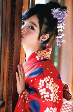 I 💗 Japanese Girls Japanese Beauty, Asian Beauty, Oriental Dress, Yukata Kimono, Cute Beauty, Japan Girl, Costume, Japanese Models, Japanese Kimono