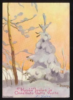 MARTTA WENDELIN, BEAUTIFULCOLOURS! Winter Art, Winter Time, Girl Face Drawing, Vintage Christmas Cards, Scottie, Visual Arts, Christmas Inspiration, Martini, Illustrators