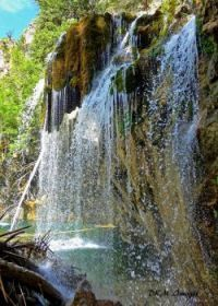 Waterfalls at Hanging Lake in Glenwood Canyon, Colorado