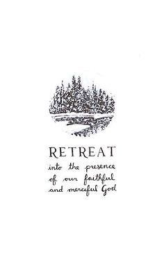 Pull away from the world and sit with God to renew, refresh, and revitalize your soul.