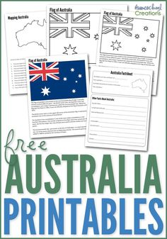 Australia Geography Printables - Free Printables In our geography studies this year, I have been updating and adding to our printable collection. Today I have a few new and updated printables to shar Geography Activities, Geography For Kids, Teaching Geography, World Geography, Australia School, Australia For Kids, Australia Fun Facts, Australia Country, Australia Beach