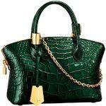 Green and Croc via Louis Vuitton