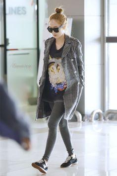 Jessica ; cool airport fashion