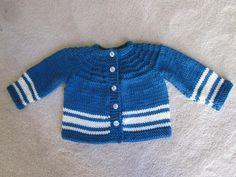 Knitting: Boy's 5 Hour Baby Sweater