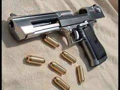 Most Powerful Handgun On The Market Caliber Desert Eagle Rifles, Armas Wallpaper, Hd Wallpaper, Hand Cannon, Desert Eagle, Fire Powers, Home Defense, Military Guns, Cool Guns
