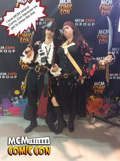 I love MCM Ireland Comic Con because we get to dress like this #ComicCon #Ireland #Pixe