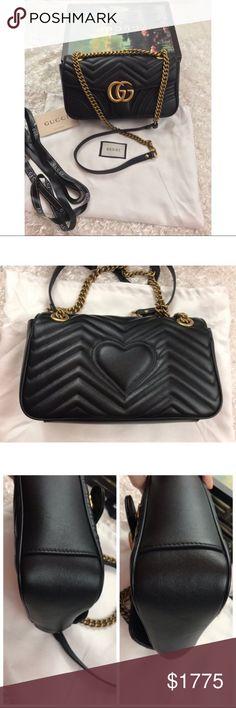 b5d0e688c283 GG Marmont matelassé leather GG Marmont matelassé leather Size small This  bag is two years old