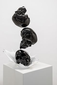 """""""Jiri Geller models and subverts the iconic forms of contemporary culture with vengeful precision. """""""