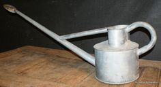 Early 20th C Galvanized Watering Can.1920
