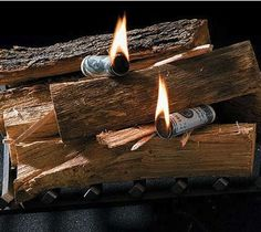 Money to Burn Fire Starters / These Money to Burn Fire Starters are a smoldering sensation around any fireplace or campfire! http://thegadgetflow.com/portfolio/money-to-burn-fire-starters-13/