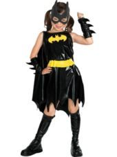 Girls Deluxe Batgirl Costume - Party City