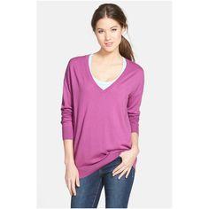 Women-s-Deep-V-Neck-Sweater-