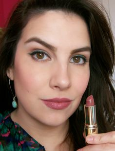 Beauty Broadcast: New Milani Color Statement Lipsticks in Rose Femme - I bought this last night and I love it. I used it with Milani Spice lip liner.