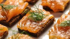 Try Martha Stewart's gravlax recipe for an appetizer at your next party of holiday gathering for a classy starter. Get the recipe at PBS Food.
