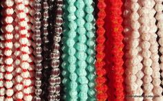 BMGM - 6mm Crystal Bicone Duo Coloured Beads 5