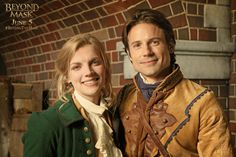 Andrew Cheney & Kara Killmer as Will Reynolds & Charlotte Holloway in Beyond the Mask The Mask 3, Beyond The Mask, Kara Killmer, Coming To Theaters, A Writer's Life, Famous Singers, Celebs, Celebrities, Narnia