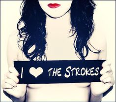 I <3 The Strokes The Strokes, T Shirts For Women, Movie Posters, Musicals, Icons, Film Poster, Billboard, Film Posters