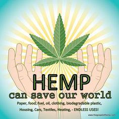 Hemp save the world!