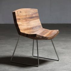 wooden chair - karim rashid