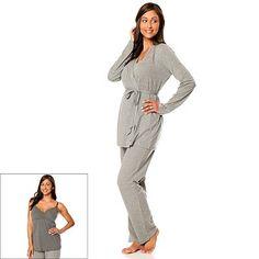 For your next pajama day! Olian 4-Piece Maternity Sleepwear Set ...