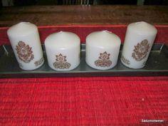 kuvioitu kynttilä Salt And Pepper, Salt N Pepper