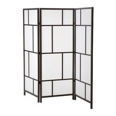 RisÖr Room Divider, White, Black