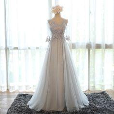 Cheap Sleeves Burgundy Prom Evening Dresses Dazzling Long A-line/Princess Applique Lace Up Dresses