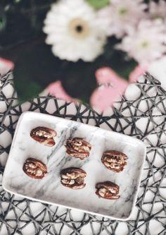Wallnut filled dates  - Healthy Sweetshttps://fashionablestreets.blogspot.de/2018/02/wallnut-filled-dates-healthy-sweets.html new recipe up on the blog  https://www.instagram.com/julianasjournal/