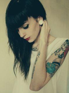 goth girl = bang