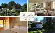 4-Star Villas at Le Franschhoek!   Amy's wedding...