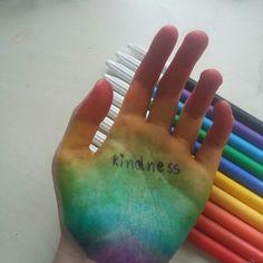 Make a rainbow :)