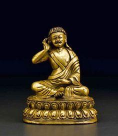 milarepa-tibet-16th-c-gilt-bronze