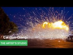 Rocket Blast Off for Cai Guo-Qiang's Mystery Circle - The Artist's Studio - MOCAtv  ...it's all happening..and we can experience these ephemeral art experiences because there's video.