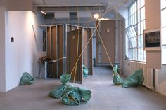 Installation view, Rachel Harrison Greene Naftali, New York, 1997