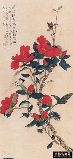 Yu Feian(于 非闇 Chinese, 1889-1959 Chinese Camelia #Gardening_Care #Small_Garden…