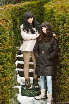 Bárbara y Raquel