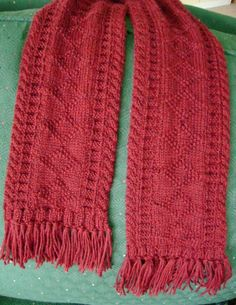 Knitting Hints:  How to Make and Attach Fringe Tassels to a Scarf, Shawl or Sweater