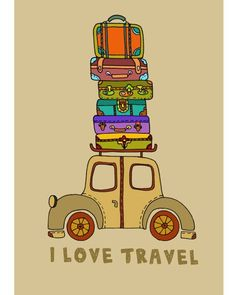 "Have had the travel bug my whole life...Inherited it from my mom who said she always kept two suitcases packed so if she got home from a trip and somebody asked her to go someplace else, she'd be ready!!!  And a daddy who would surprise us kids with a vacation by walking in and saying, ""Everyone who wants to go on vacation with me, be ready in 15 minutes.""  (slj)"