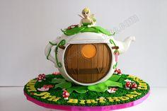 Celebrate with Cake!: Tinkerbell Teapot Cake