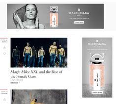 Balenciaga - Banner Ad in context