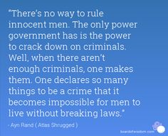 ayn rand no way to rule innocent men - Google Search