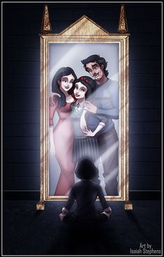 Is it me or does Snow's dad look a little too much like Prince Eric?