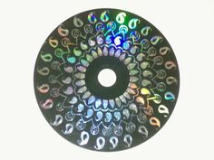 Pretty Art from old CDs