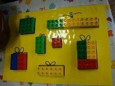 Christmas Math, Preschool Christmas, Christmas Activities, Christmas Time, Christmas Crafts, Lego Duplo, Montessori Activities, Toddler Activities, Diy And Crafts