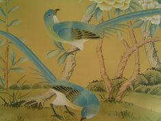 expensive silk wallpaper | silk free wallpaper: chinoiserie silk wallpaper