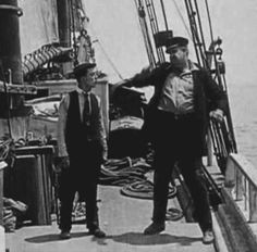 The Love Nest 1923 - Big Joe plays a nasty sea captain in this last of Buster's shorts. Buster moves on to features using Big Joe in the first two of them before Joe's death. Big Joe appeared in 16 of Buster's 19 two reelers