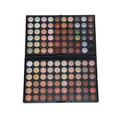 KRABICE Eyeshadow PaletteBold and Bright Collection VividEyeshadow Eye Shadow Palette Makeup Kit Set120 Eyeshadow Palette Pattern 4 >>> Click image for more details.